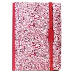 """Универсальный чехол-книжка для планшетов 8"""" (SmartBuy Flowery) (красный)"""