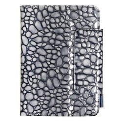 """Универсальный чехол-книжка для планшетов 7"""" (SmartBuy Stones) (серый)"""