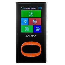 Explay C45 4Gb (черный/оранжевый)