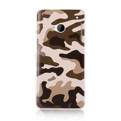 ����������� �����-�������� ��� htc one (deppa military case 85022) (����������) + �������� ������