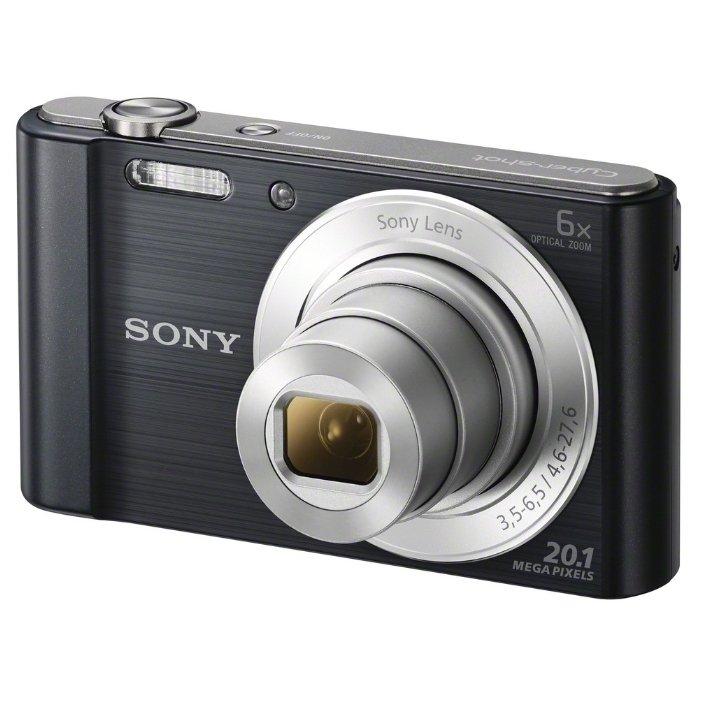Sony Cyber-shot DSC-W810 (черный) - Фотоаппарат цифровой