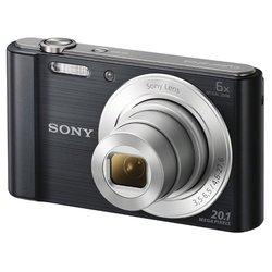 Sony Cyber-shot DSC-W810 (черный)
