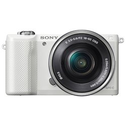 Sony Alpha A5000 Kit (белый)