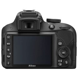 nikon d3300 kit (black 24.2mpix 18-55vr ii 3 1080p sd, ����� � ����������)