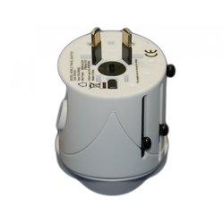 Универсальное сетевое зарядное устройство (Palmexx PX/PA-UNI-UK/US/EU/AU) (белое)