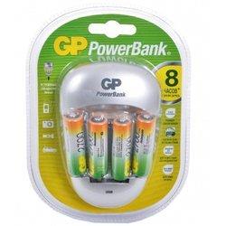 Аккумулятор + зарядное устройство (GP PB27PGS270) (4 шт AA, 2700 мАч)