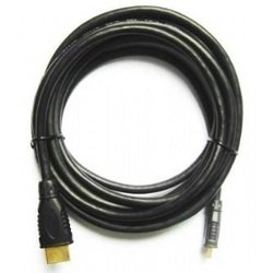 Кабель HDMI 19 (m) - mini HDMI 19 (m), v 1.3, 3.0 м (Gembird 0184110) (черный) (пакет)