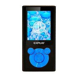 Explay C46 4Gb (черный/голубой)