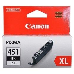 Картридж для Canon PIXMA MX924, iP7240, MG5440, MG6340 (CLI-451BK XL 6472B001) (черный)