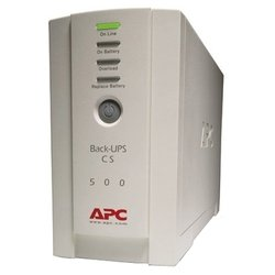 APC by Schneider Electric Back-UPS 500, 230V, IEC320, without auto shutdown software