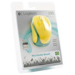 logitech wireless mouse m235 usb (910-004026) (бразилия)