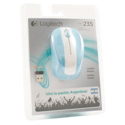 logitech wireless mouse m235 usb (910-004027) (аргентина)