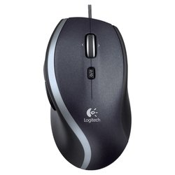 Logitech Corded Mouse M500 USB New (черный)