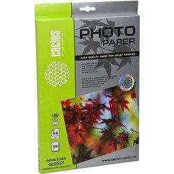 Глянцевая фотобумага А4 (50 листов) (Cactus CS-GA418050)