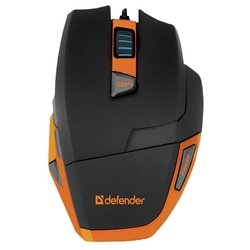 Defender Warhead GM-1500 Black-Orange USB