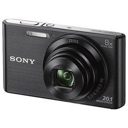 Sony Cyber-shot DSC-W830 (черный)