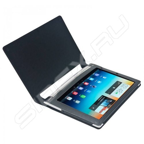 Кожаный чехол книжка для lenovo yoga tablet 10
