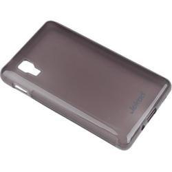 Силиконовый чехол-накладка для LG Optimus L4 II Dual (Jekod YT000004575) (черный)