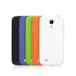 Пластиковый чехол Air Case и защитная пленка для HTC One mini (Deppa 83044) (черный)