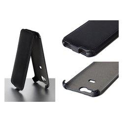 Чехол-флип для ZTE Leo S1 (iBox Premium YT000004602) (черный)
