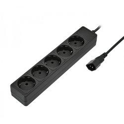 Сетевой фильтр на 5 розеток для подключения к UPS 1,8m (Sven Special Base) (черный)