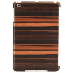 ��������� �����-�������� ��� apple ipad mini (man&wood ebony m2117a) (�����-����������)