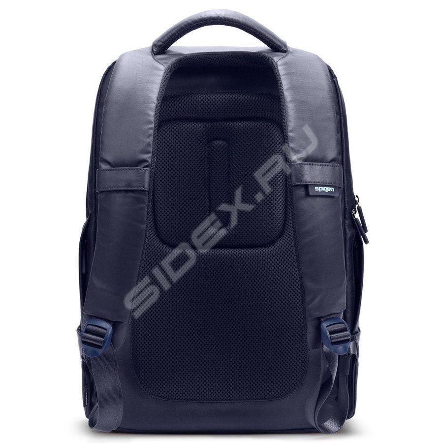 ceb27c434f рюкзак для ноутбука spigen sgp new coated 2 backpack (sgp10552) (синий)