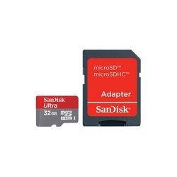 SanDisk Ultra IMAGING MicroSDHC Class10 32Gb с SD адаптером