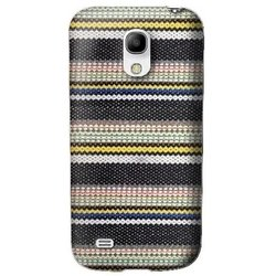 чехол-накладка для samsung galaxy s4 mini (ikins ikg4mfadeb) (denim stripe)