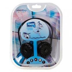 Накладные наушники SmartBuy FLASH с встроенным MP3 плеером (SBE-8800) (черные)
