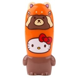 ��������� mimoco mimobot hello kitty loves animals - raccoon 32gb