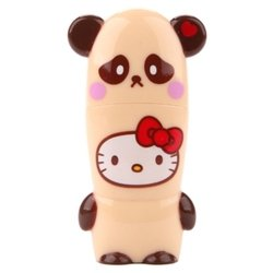 mimoco mimobot hello kitty loves animals - panda 32gb