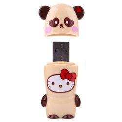 mimoco mimobot hello kitty loves animals - panda 16gb