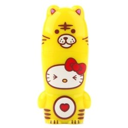 mimoco mimobot hello kitty loves animals - tiger 16gb