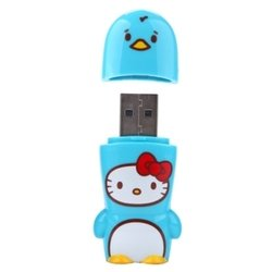 mimoco mimobot hello kitty loves animals - penguin 8gb