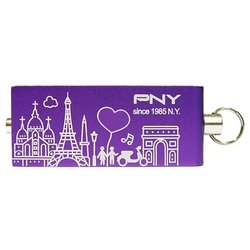 pny lovely attache city series paris 16gb