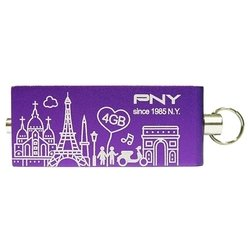 pny lovely attache city series paris 4gb