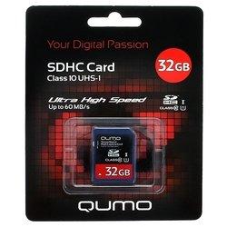 Qumo SDHC Card Class 10 UHS-I U1 32GB
