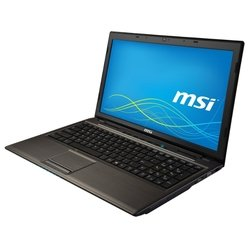 "msi cr61 2m (pentium 3550m 2300 mhz/15.6""/1366x768/4gb/500gb/dvd-rw/intel gma hd/wi-fi/bluetooth/dos)"