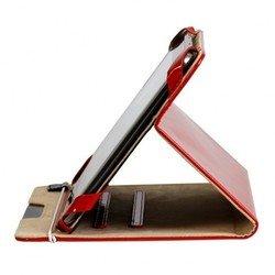 """Универсальный чехол-книжка для планшетов 8"""" Smartbuy Glossy (SBC-Glossy UNI-8-R) (красный)"""