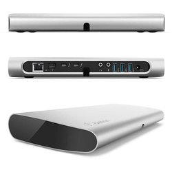 Расширитель портов ввода-вывода Belkin Thunderbolt Express Dock для MacBook Air, MacBook Pro, Mac Mini (F4U055cwAPL)