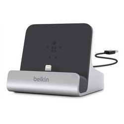 Док-станция Belkin для iPad 4, iPad mini, iPod Touch 5, iPhone (F8J088bt) (серебристо-черный)