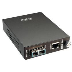 Медиаконвертер из 1000BASE-T по витой паре в 1000BASE-LX по одномодовому волокну D-Link DMC-810SC (DMC-810SC/B8A) (коричневый)
