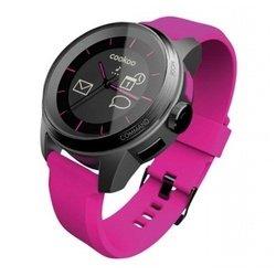 Умные часы COOKOO Watch (CKW-KP002-01) (черный с розовым ремешком)