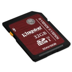 Kingston SDHC UHS-I U3 Class 10 32GB (SDA3/32GB)