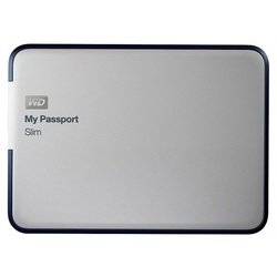 Western Digital My Passport Slim 2Tb (WDBFPF0020BAL-EEUE) (серебристый)
