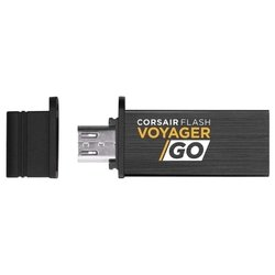 corsair flash voyager go 16gb (черный)