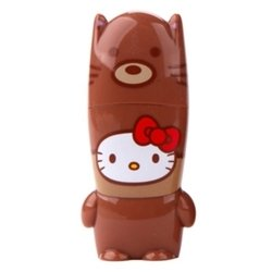 mimoco mimobot hello kitty loves animals - fox 8gb