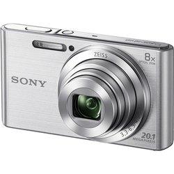 Sony Cyber-shot DSC-W830 (серебристый)