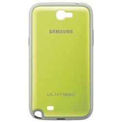 Пластиковый чехол-накладка для Samsung Galaxy Note 2 (Note II) N7100 (EFC-1J9BGEGSTD) (зеленый)